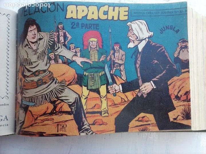 Tebeos: APACHE 2ª SERIE ORIGINAL COMPLETA 1 AL 76 - 1958 EXCELENTE ESTADO, VER IMAGENES - Foto 140 - 108097779