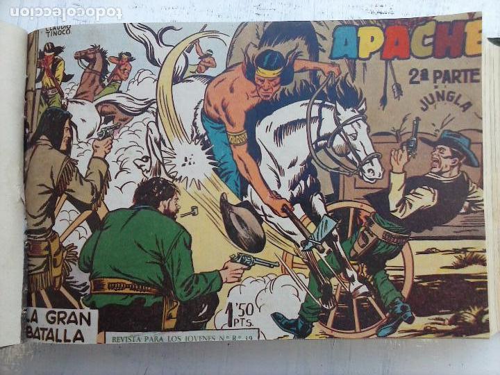 Tebeos: APACHE 2ª SERIE ORIGINAL COMPLETA 1 AL 76 - 1958 EXCELENTE ESTADO, VER IMAGENES - Foto 144 - 108097779