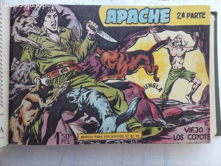 Tebeos: APACHE 2ª SERIE ORIGINAL COMPLETA 1 AL 76 - 1958 EXCELENTE ESTADO, VER IMAGENES - Foto 145 - 108097779