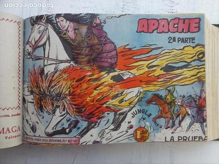 Tebeos: APACHE 2ª SERIE ORIGINAL COMPLETA 1 AL 76 - 1958 EXCELENTE ESTADO, VER IMAGENES - Foto 146 - 108097779