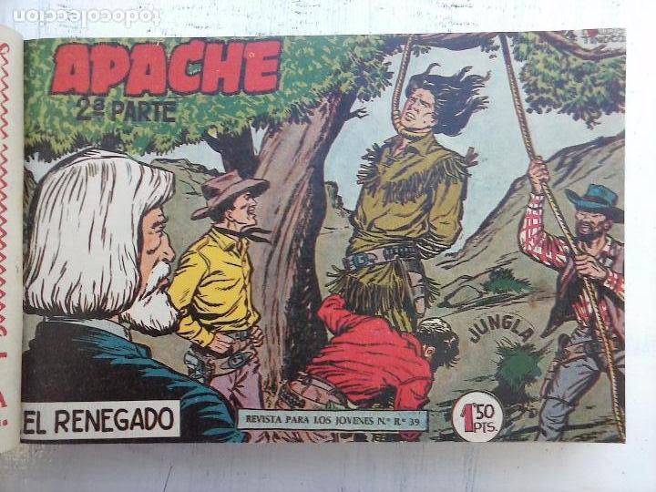 Tebeos: APACHE 2ª SERIE ORIGINAL COMPLETA 1 AL 76 - 1958 EXCELENTE ESTADO, VER IMAGENES - Foto 151 - 108097779