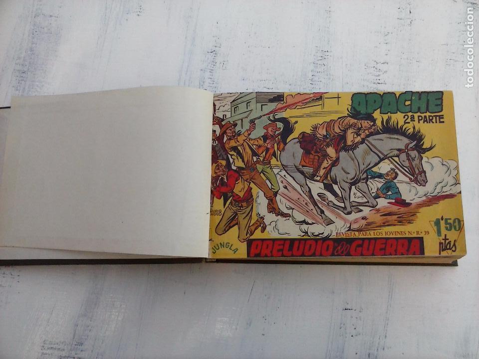 Tebeos: APACHE 2ª SERIE ORIGINAL COMPLETA 1 AL 76 - 1958 EXCELENTE ESTADO, VER IMAGENES - Foto 153 - 108097779