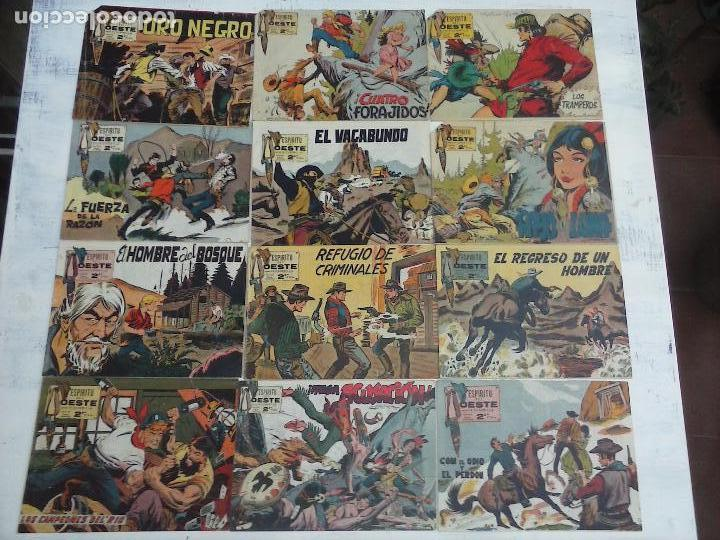ESPIRITU DEL OESTE 12 NºS - 2,4,5,6,7,9,10,11,12,13,14,37 - MANUEL GAGO, MATÍAS ALONSO, ROSELLÓ (Tebeos y Comics - Maga - Otros)