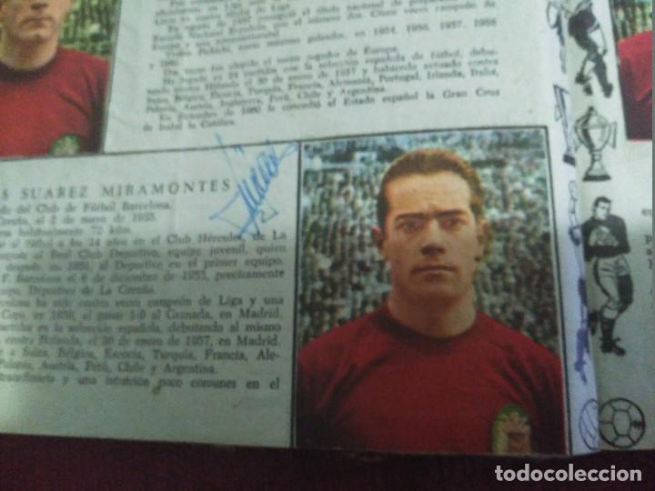 Tebeos: Excepcional 41 ejemplares encuadernados de oliman.autografos originales de jugadores de la seleccion - Foto 4 - 108690587