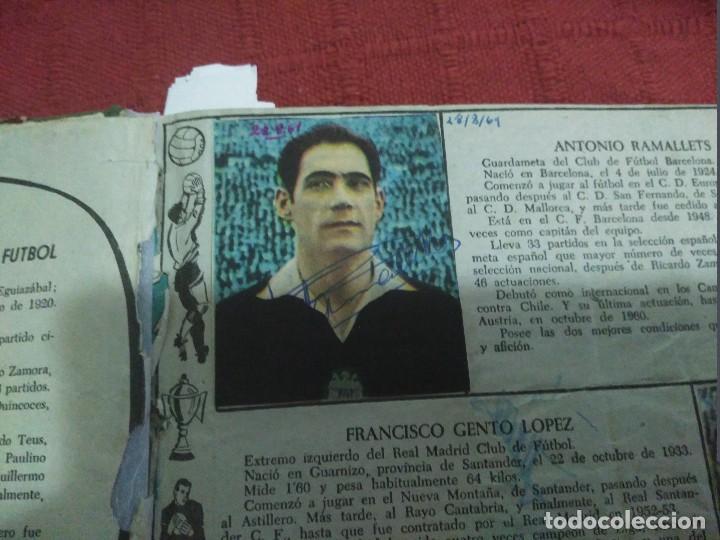 Tebeos: Excepcional 41 ejemplares encuadernados de oliman.autografos originales de jugadores de la seleccion - Foto 5 - 108690587