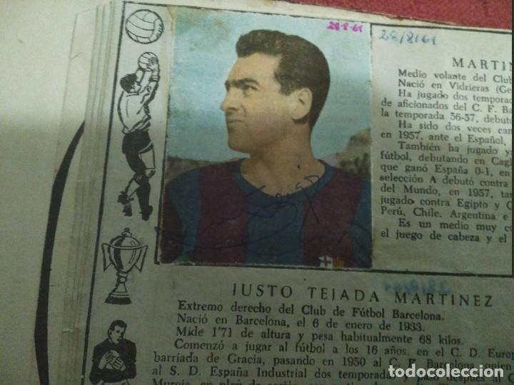 Tebeos: Excepcional 41 ejemplares encuadernados de oliman.autografos originales de jugadores de la seleccion - Foto 6 - 108690587