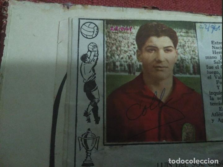 Tebeos: Excepcional 41 ejemplares encuadernados de oliman.autografos originales de jugadores de la seleccion - Foto 7 - 108690587