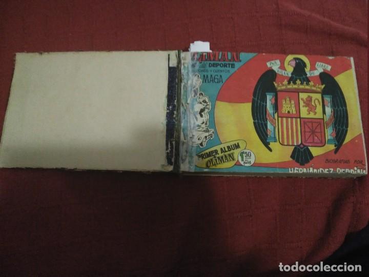 Tebeos: Excepcional 41 ejemplares encuadernados de oliman.autografos originales de jugadores de la seleccion - Foto 10 - 108690587
