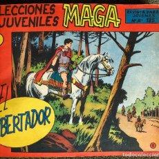 Tebeos: EL LIBERTADOR. COMPLETA Y ORIGINAL (MAGA). DIBUJOS L.ORTIZ. 30 NUMEROS EN UN TOMO. BUEN ESTADO.. Lote 109318187
