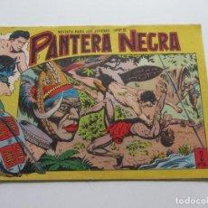 Tebeos: PANTERA NEGRA - Nº 1 - ED. MAGA 1.958, ORIGINAL UNO DIFICIL CSADUR86. Lote 109355755