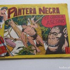 Tebeos: PANTERA NEGRA - Nº 19 - ED. MAGA 1.958, ORIGINAL UNO DIFICIL CSADUR86. Lote 109355851