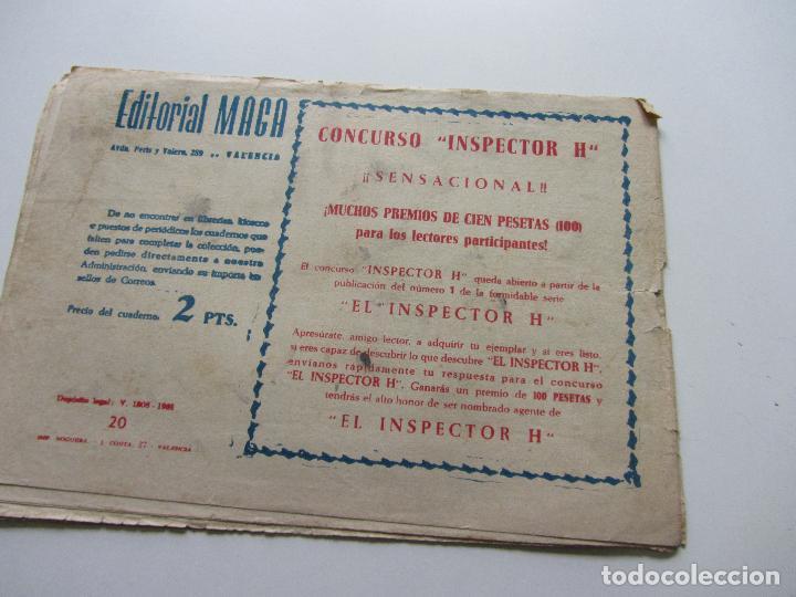 Tebeos: HACHA Y ESPADA Nº 20 EDITORIAL MAGA CSADUR86 - Foto 2 - 109356795