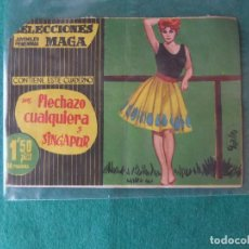 Tebeos: SELECCIONES JUVENILES FEMENINAS MAGA Nº 15. Lote 109530799