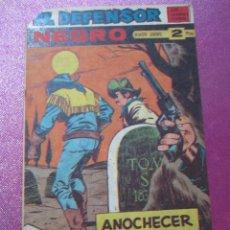 Tebeos: EL DEFENSOR NEGRO Nº 59 MAGA EXCELENTE ESTADO. Lote 109619183