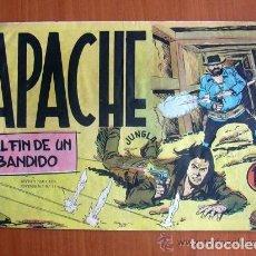 Tebeos: APACHE, Nº 33 EL FIN DE UN BANDIDO - EDITORIAL MAGA 1956. Lote 109737639