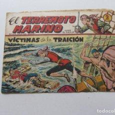 Tebeos: EL TERREMOTO MARINO Nº 2. MAGA 1963. ORIGINAL C86SADUR. Lote 109821371