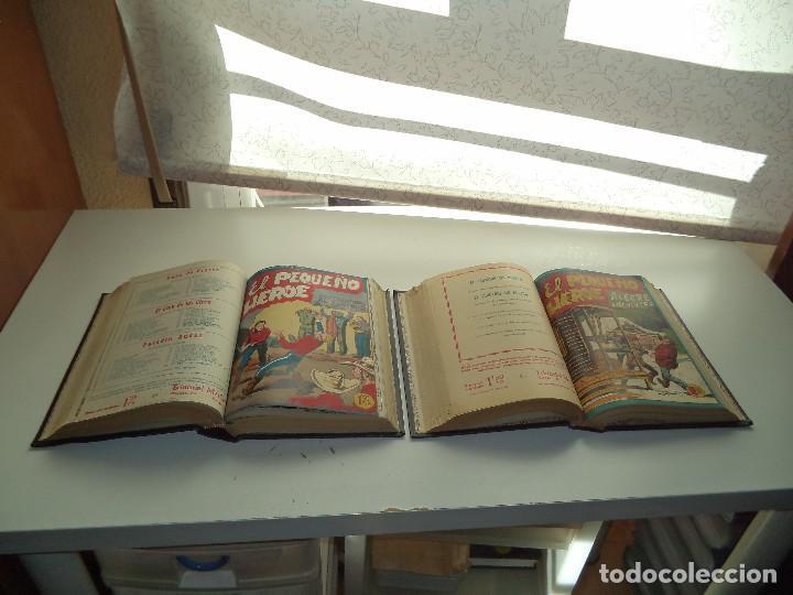 EL PEQUEÑO HÉROE, AÑO 1.956. COLECCIÓN COMPLETA DE 120 TEBEOS ORIGINALES ENCUADERNADA EN 2 TOMOS (Tebeos y Comics - Maga - Pequeño Héroe)