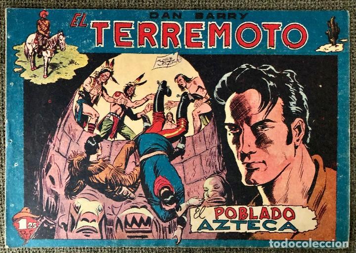 DAN BARRY EL TERREMOTO NUMERO 44. ORIGINAL. EDITORIAL MAGA (Tebeos y Comics - Maga - Dan Barry)