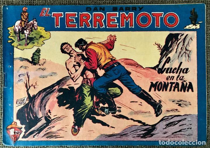 DAN BARRY EL TERREMOTO NUMERO 38. ORIGINAL. EDITORIAL MAGA (Tebeos y Comics - Maga - Dan Barry)