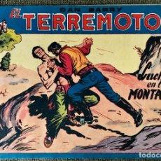 Tebeos: DAN BARRY EL TERREMOTO NUMERO 38. ORIGINAL. EDITORIAL MAGA. Lote 110100387