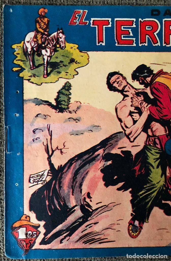Tebeos: DAN BARRY EL TERREMOTO NUMERO 38. ORIGINAL. EDITORIAL MAGA - Foto 2 - 110100387