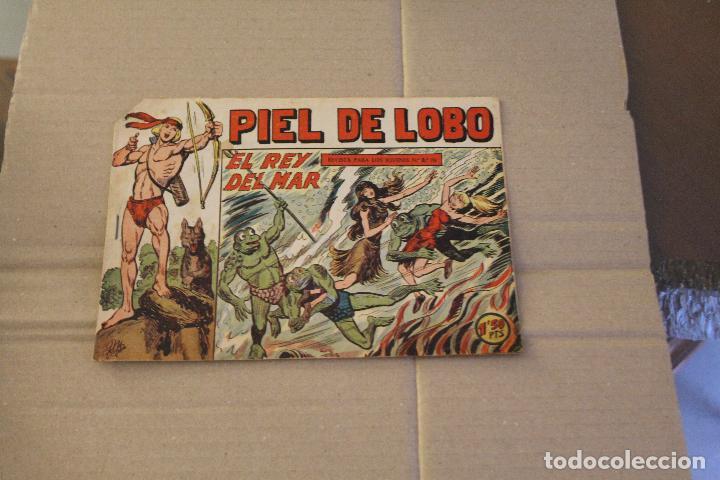 PIEL DE LOBO Nº 16, EDITORIAL MAGA (Tebeos y Comics - Maga - Pequeño Héroe)