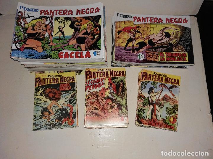 MAGA/PEQUEÑO PANTERA NEGRA, COMPLETA, 1ª Y 2ª PARTE (275 CUADERNOS) (Tebeos y Comics - Maga - Pantera Negra)