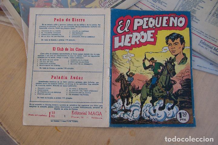 Tebeos: maga pequeño héroe y sus series don z- hombres heroicos - Foto 16 - 35237005