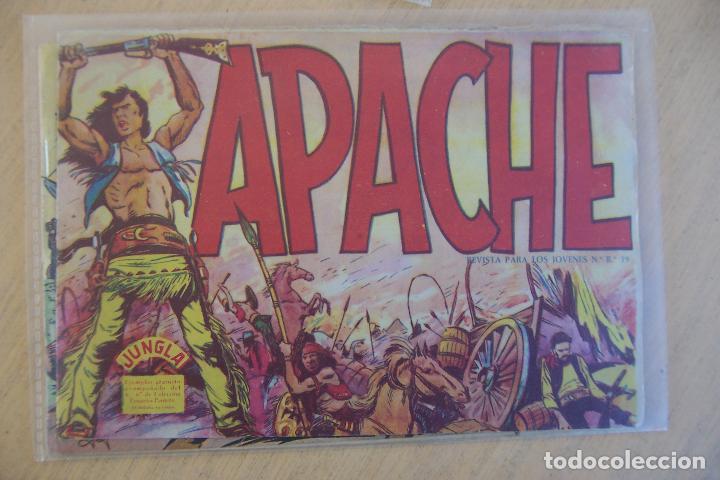 Tebeos: maga jungla y sus series - apache 1ª y 2ª - Foto 2 - 35365238