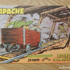 Tebeos: APACHE 2ª PARTE Nº 65 DESAFÍO A LA MUERTE JUNGLA EDITORIAL MAGA 1958 CUADERNO REVISTA COMIC. Lote 113331295
