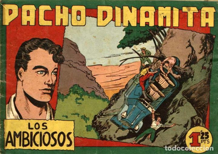 PACHO DINAMITA-47, DE MIGUEL Y PEDRO QUESADA (MAGA, 1951) (Tebeos y Comics - Maga - Pacho Dinamita)
