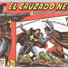 Tebeos: EL CRUZADO NEGRO. TORRE NEGRA. SERIE ATLETAS. Nº 28. EDITORIAL MAGA, REEDICION. Lote 113566935