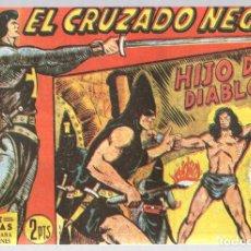 Tebeos: EL CRUZADO NEGRO. HIJO DEL DIABLO. SERIE ATLETAS. Nº 29. EDITORIAL MAGA, REEDICION. Lote 113567034