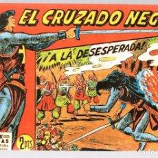 Tebeos: EL CRUZADO NEGRO. ¡A LA DESESPERADA!. SERIE ATLETAS. Nº 39. EDITORIAL MAGA, REEDICION. Lote 113569016