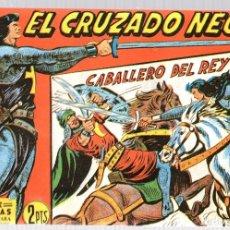 Tebeos: EL CRUZADO NEGRO. CABALLERO DEL REY. SERIE ATLETAS. Nº 43. EDITORIAL MAGA, REEDICION. Lote 113569428