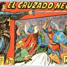 Tebeos: EL CRUZADO NEGRO. TRAGICA DECISION. SERIE ATLETAS. Nº 45. EDITORIAL MAGA, REEDICION. Lote 113569575