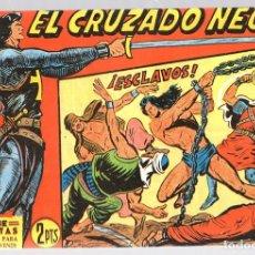 Tebeos: EL CRUZADO NEGRO. ¡ESCLAVOS!. SERIE ATLETAS. Nº 48. EDITORIAL MAGA, REEDICION. Lote 113570034