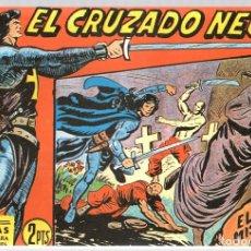 Tebeos: EL CRUZADO NEGRO. EL MISTERIOSO ASESINO. SERIE ATLETAS. Nº 52. EDITORIAL MAGA, REEDICION. Lote 113570216