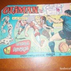 Tebeos: OLIMAN Nº 40-ORIGINAL-. Lote 113913787