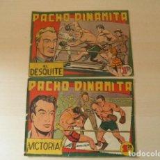Giornalini: 2 TEBEOS DE PACHO DINAMITA. Lote 114682631