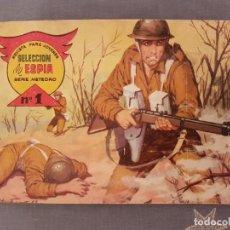 Tebeos: COMIC,REVISTA PARA JOVENES,SELECCION DE ESPIA SERIE METEORO Nº1.MAGA 1963-BUEN ESTADO,VER DETALLES.. Lote 114750395