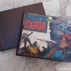 Tebeos: JOHNNY FOGATA ,EDITORIAL MAGA ,1 AL 80, ENCUADERNADO CON LAS TAPAS, 16X22, 1960. Lote 114870527