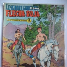 Tebeos: LEYENDAS GRAFICAS FLECHA ROJA MAGA Nº 53 ORIGINAL. Lote 115010595
