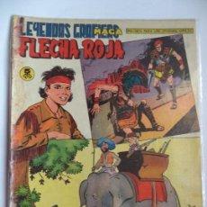 Tebeos: LEYENDAS GRAFICAS FLECHA ROJA Nº 59 MAGA ORIGINAL. Lote 115014139
