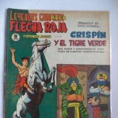 Tebeos: LEYENDAS GRAFICAS FLECHA ROJA Nº 56.MAGA ORIGINAL. Lote 115014887