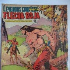 Tebeos: LEYENDAS GRAFICAS FLECHA ROJA Nº 63 MAGA. Lote 115016023