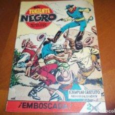 Tebeos: EL TENIENTE NEGRO-Nº 1-ORIGINAL. Lote 115062783