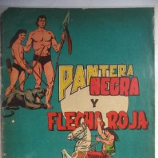 Tebeos: PANTERA NEGRA Y FLECHA ROJA Nº 66. Lote 115106227