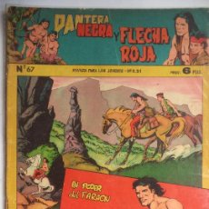 Tebeos: PANTERA NEGRA Y FLECHA ROJA Nº 67. Lote 115106687