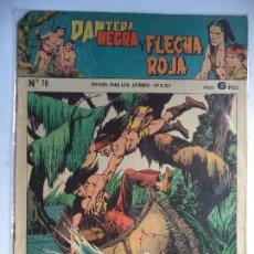 Tebeos: PANTERA NEGRA Y FLECHA ROJA Nº 78. Lote 115109135